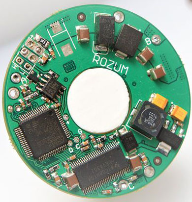RDrive integrated microcontroller PCB