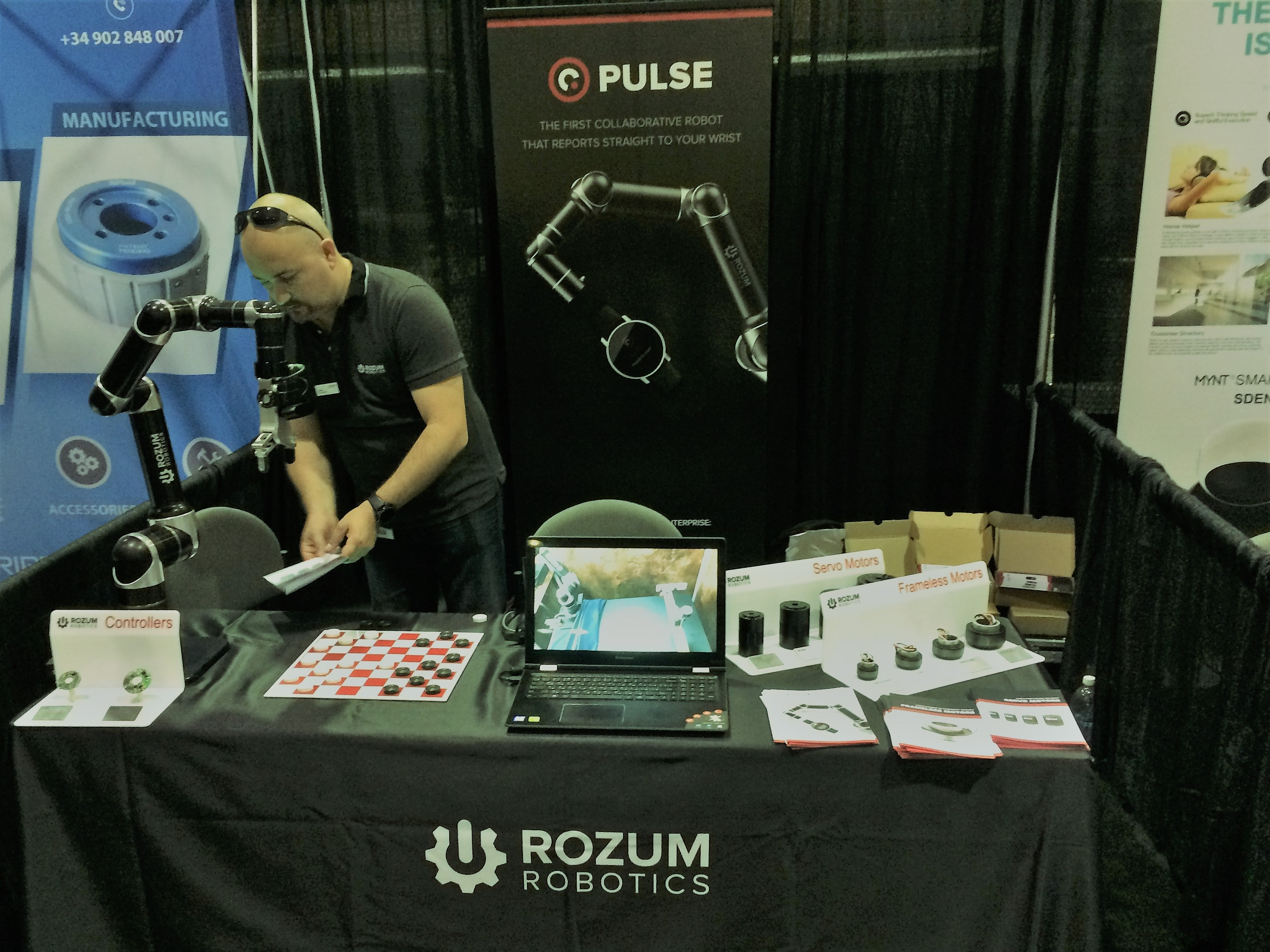Rozum Robotics at RoboBusiness 2017 in Santa-Clara, US
