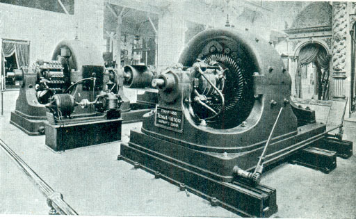 original induction AC motor by Tesla
