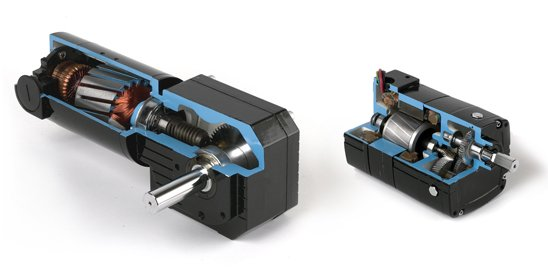 right angle and parallel shaft geared motors